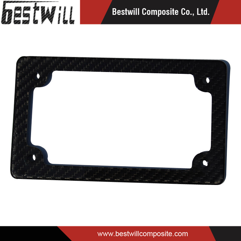 Carbon Fiber Products Car Parts Carbon Fiber License Plate Frame
