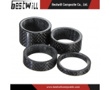 Carbon Fiber Gloss Headset Washer Spacers for Stem Road MTB Bike