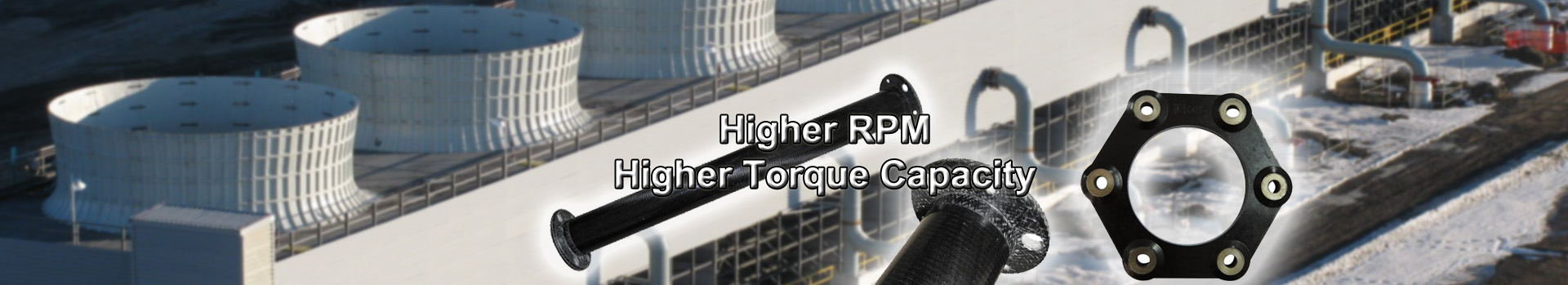 Carbonfiber Driveshaft — Higher RPM,Higher Torque Capacity