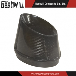 Carbon Fiber for Motorcycle Muffler End Cap