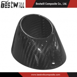 3k Carbon Fiber for Motorcycle Muffler End Cap