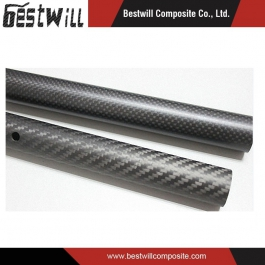 Full 3k Carbon Fiber Products for Sailing Skiff Masts Straight Tube
