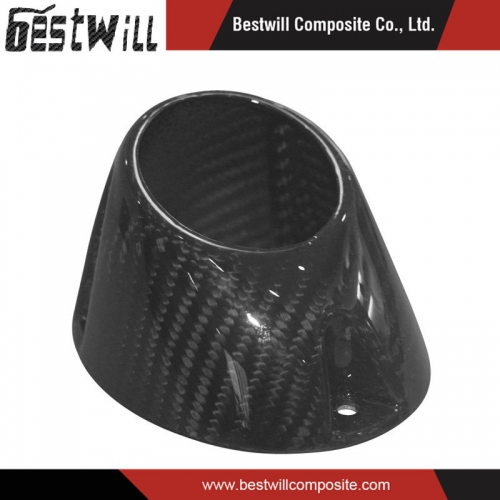 Carbon Fiber Products for Motorcycle Muffler End Cap
